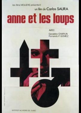 affiche du film ANNE ET LES LOUPS