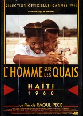 affiche du film HOMME SUR LES QUAIS (L')