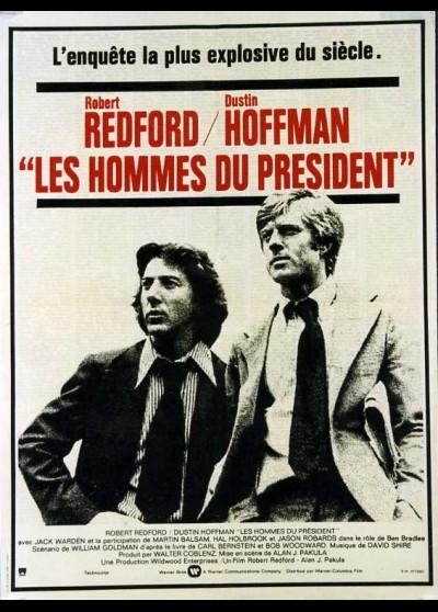 ALL THE PRESIDENT'S MEN movie poster