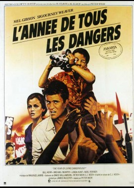 YEAR OF LIVING DANGEROUSLY (THE) movie poster