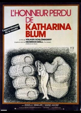 VERLORENE EHRE DER KATHARINA BLUM ODER WIE GEWALT ENTSTEHEN UND WOHIN SIE FUHREN KANN (DIE) movie poster