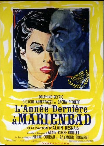 affiche du film ANNEE DERNIERE A MARIENBAD (L')