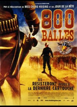 800 BALAS / OCHOCIENTAS BALAS movie poster