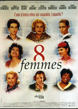 8 FEMMES movie poster