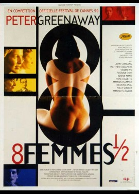 8 1/2 WOMEN / EIGHT AND A HALF WOMEN movie poster