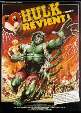 affiche du film HULK REVIENT