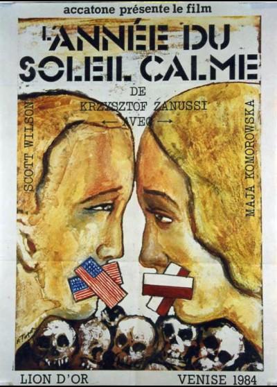 affiche du film ANNEE DU SOLEIL CALME (L')