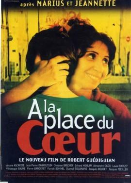 affiche du film A LA PLACE DU COEUR