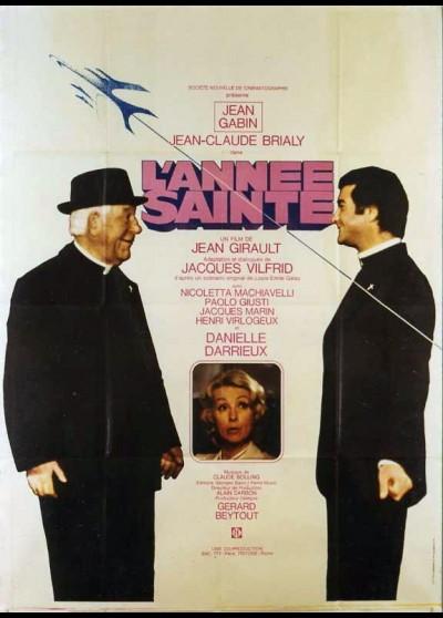 affiche du film ANNEE SAINTE (L')