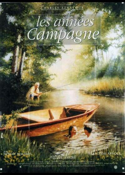 affiche du film ANNEES CAMPAGNE (LES)
