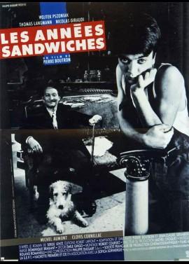 affiche du film ANNEES SANDWICHES (LES)