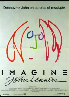 IMAGINE JOHN LENNON movie poster