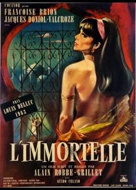 affiche du film IMMORTELLE (L')