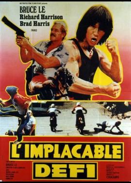 affiche du film IMPLACABLE DEFI (L')