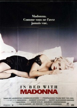 MADONNA TRUTH OR DARE movie poster