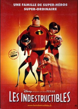 INCREDIBLES (THE) movie poster