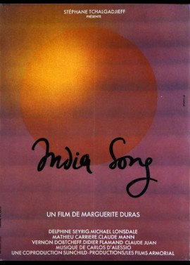 INDIA SONG movie poster