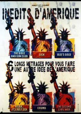 affiche du film INEDITS D'AMERIQUE