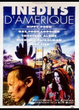 affiche du film INEDITS D'AMERIQUE / HAPPY PORN / TOGETHER ALONE / SURE FIRE / GAS FOOD LODGING