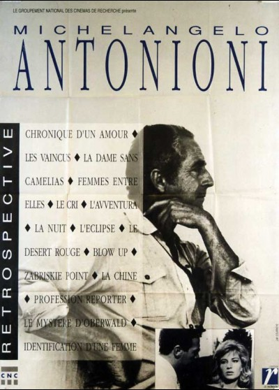 ANTONIONI RETROSPECTIVE movie poster