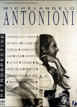 affiche du film ANTONIONI RETROSPECTIVE