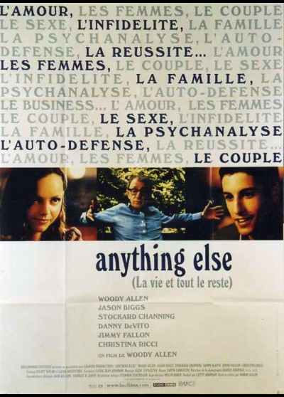 affiche du film ANYTHING ELSE