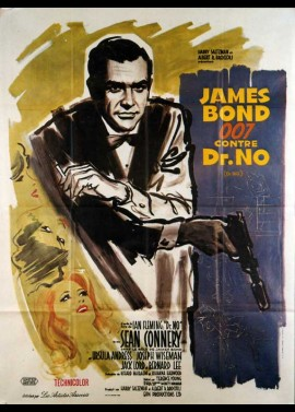 DOCTOR NO movie poster