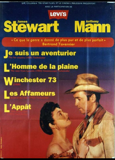 ANTHONY MANN JAMES STEWART FESTIVAL movie poster