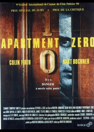 APARTMENT ZERO movie poster