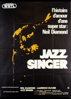 JAZZ SINGER (THE) movie poster