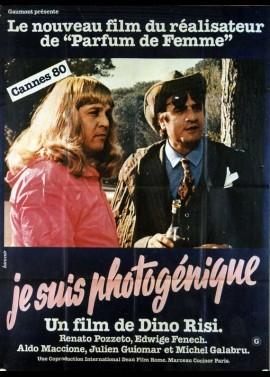 affiche du film JE SUIS PHOTOGENIQUE