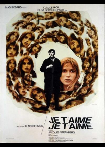 affiche du film JE T'AIME JE T'AIME