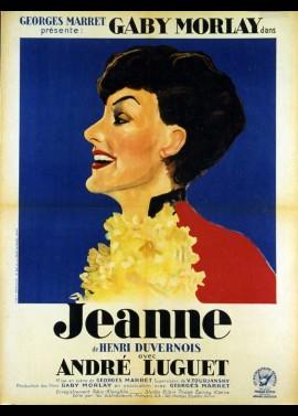 JEANNE movie poster
