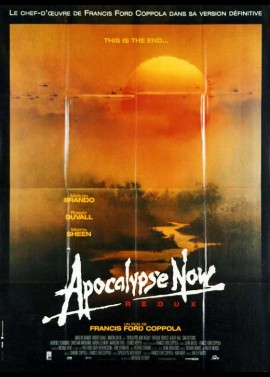 APOCALYPSE NOW REDUX movie poster