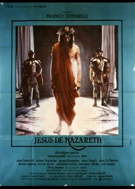 affiche du film JESUS DE NAZARETH