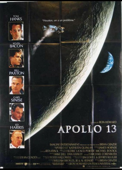 APOLLO 13 / APOLLO THIRTEEN movie poster