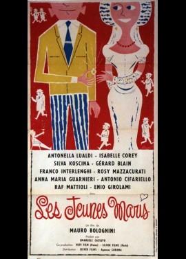 affiche du film JEUNES MARIS (LES)