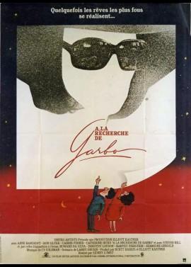affiche du film A LA RECHERCHE DE GARBO
