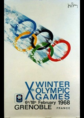 JEUX OLYMPIQUES D'HIVER 1968 GRENOBLE movie poster
