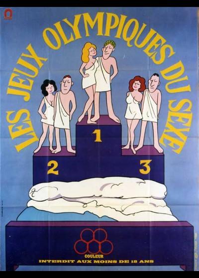 affiche du film JEUX OLYMPIQUES DU SEXE (LES)