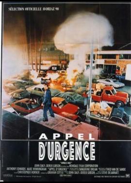 affiche du film APPEL D'URGENCE