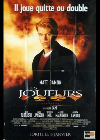 affiche du film JOUEURS (LES)