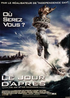 DAY AFTER TOMORROW (THE) movie poster