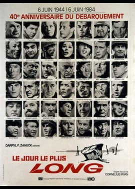 LONGEST DAY (THE) movie poster