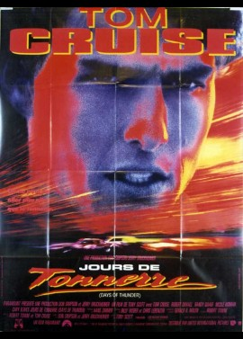 DAYS OF THUNDER movie poster