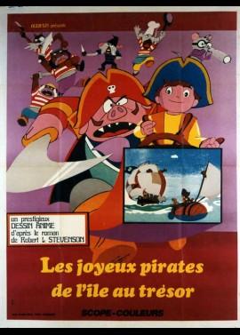 affiche du film JOYEUX PIRATES DE L'ILE AU TRESOR (LES)