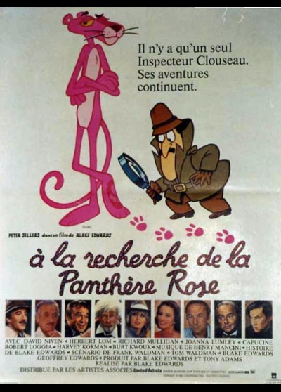 TRAIL OF THE PINK PANTHER movie poster