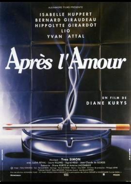 APRES L'AMOUR movie poster