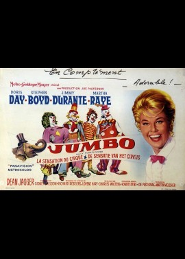 BILLY ROSE'S JUMBO movie poster