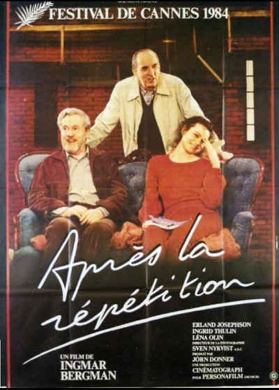 affiche du film APRES LA REPETITION